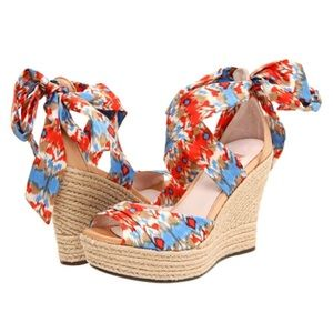Ugg Lucianna Spadrille Wedge Sandals